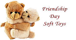 Friendship Day Soft Toys to Hyderabad