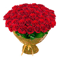 Flower Delivery in Khammam. Send Red Roses Bouquet of 100 Flowers to Khammam