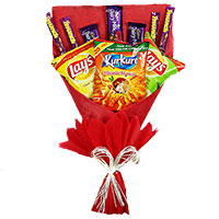 16 Pcs Ferrero Rocher Hyderabad and Twin 6 Inch Teddy Bouquet. New Year Gifts to Hyderabad Same Day Delivery