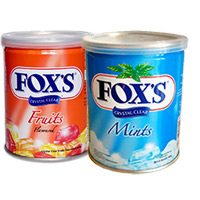 Send Rakhi Gifts to Hyderabad that include 2 Box Fox Candy.
