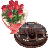 Red Roses and Chocolate Cakes to Hyderabad