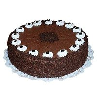 Eggless Cakes to Hyderabad - Chocolate Cake From 5 Star