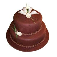 Eggless Cakes to Hyderabad - Tier Chocolate Cake