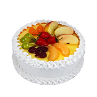 Eggless Cakes to Khammam and 500 gm Eggless Fruit Cream Cakes in Khammam