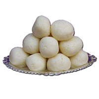 500 gm Rasgulla. Christmas Sweets Gifts to Hyderabad