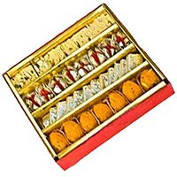 Place Order for Christmas Gifts in Hyderabad including 1 kg Assorted Sweets in Hyderabad online