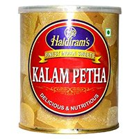 Christmas Gifts to Hyderabad consist of 1 kg Haldiram Kalam Petha