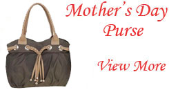 Purse for Mother's Day to Hyderabad