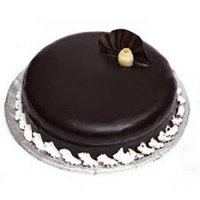 Send Cakes to Hyderabad Banjara Hills - Square Black Forest Cake
