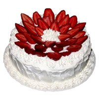 Valentine's Day Cakes Delivery in Tirupati - Strawberry From 5 Star