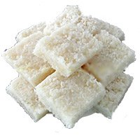 Deliver Rakhi Gifts to Hyderabad. Send 250gm Coconut Barfi With 1 Rakhi